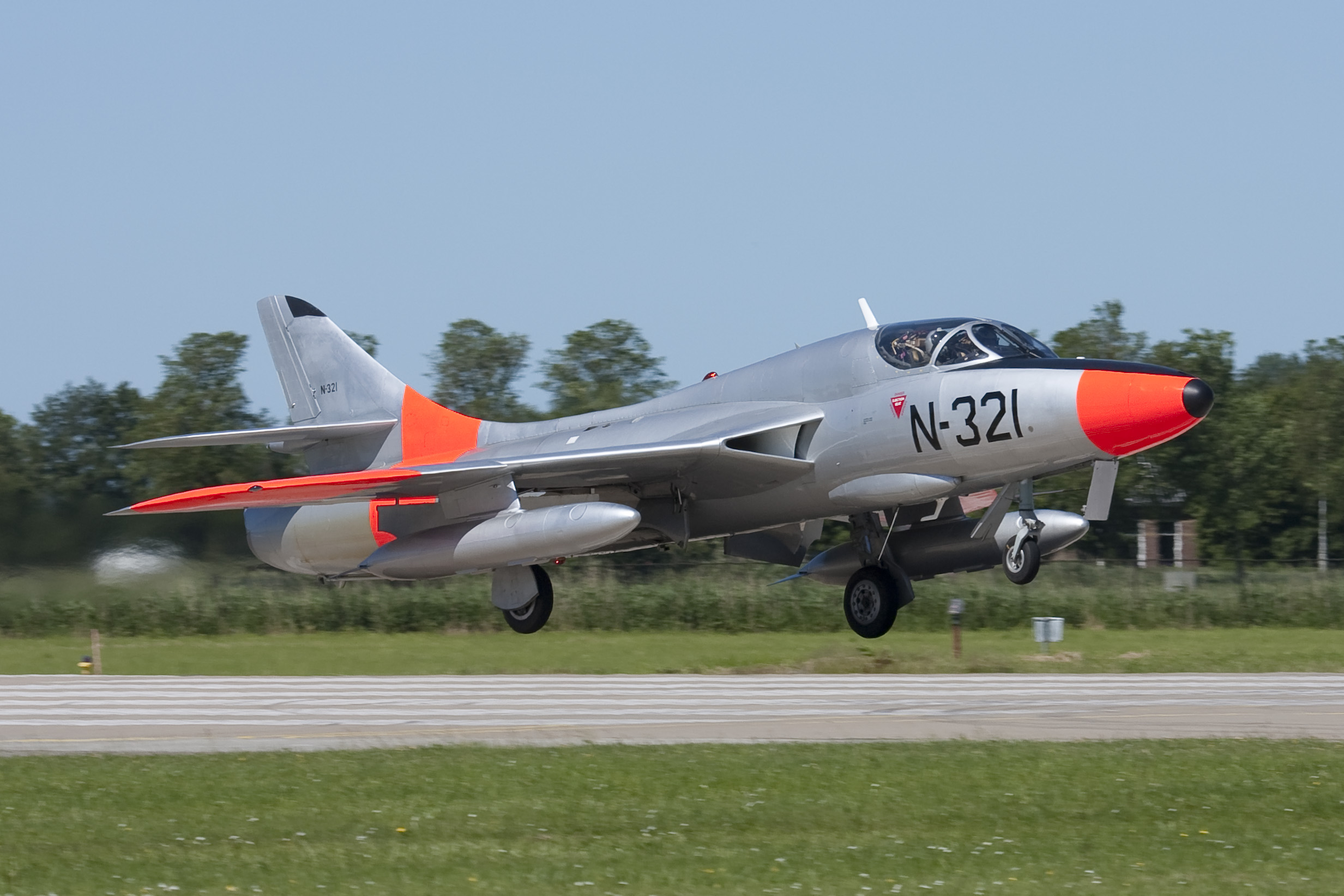 Dutch Hawker Hunter N-321