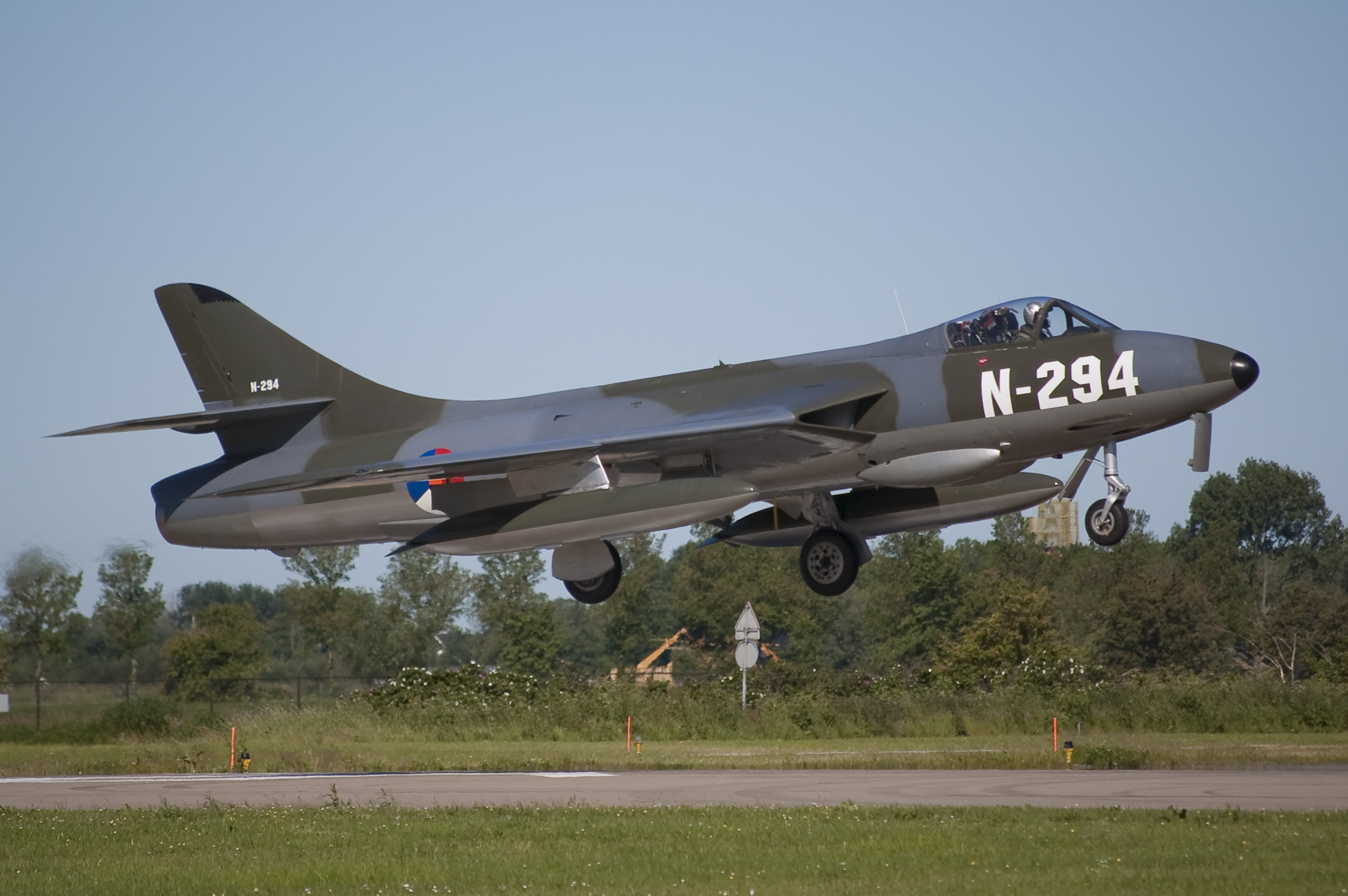 Dutch Hawker Hunter N-294